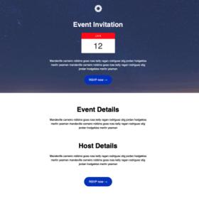 Virtual or In-person Event Invitation