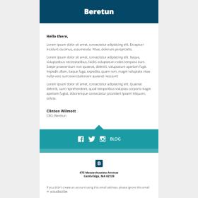 Beretun: Stationery