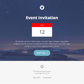 Pook: Event Invitation