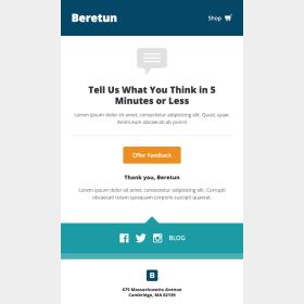 Beretun: Feedback