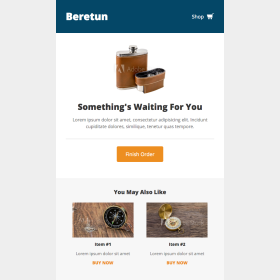 Beretun: Shopping Cart